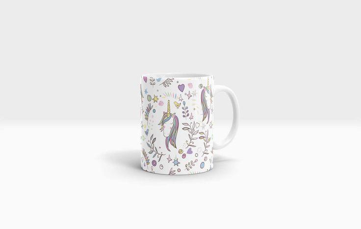 Unicorn Mug. 11oz Ceramic Mug. by NJsBoutiqueCo on Etsy