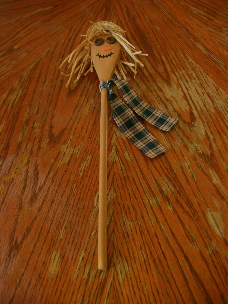 Scarecrow Wooden Spoon Crafts Pinterest Scarecrows