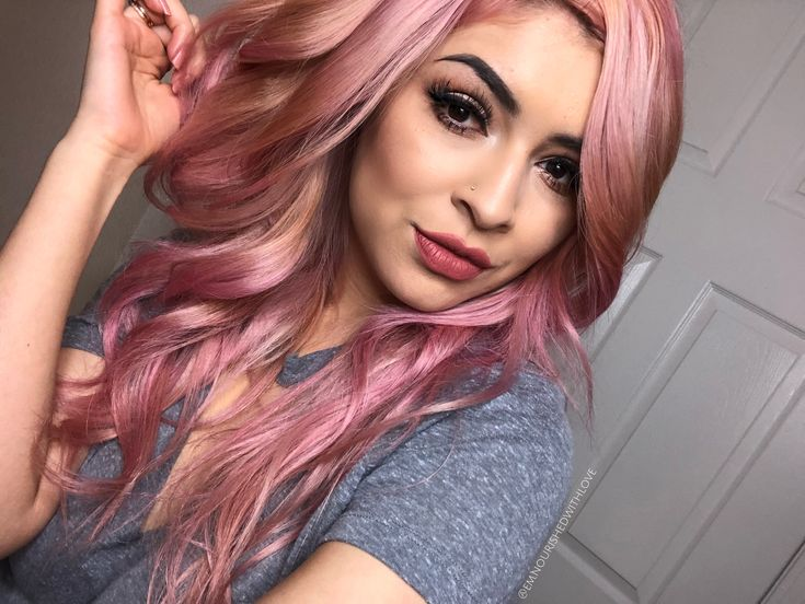 Ion Rose Quartz Flamingo Semi Permanent Hair Pink Rose