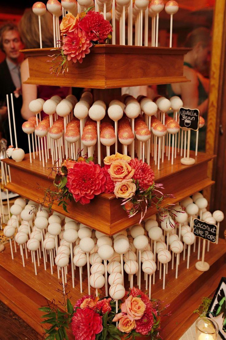 Wedding Cake Pop Stand Display Cake Pop Portfolio