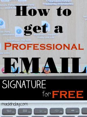 Más de 25 ideas increíbles sobre Professional email signature en - email signature example