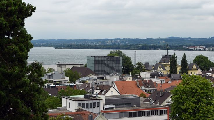 Bregenz - View from Martinsturm