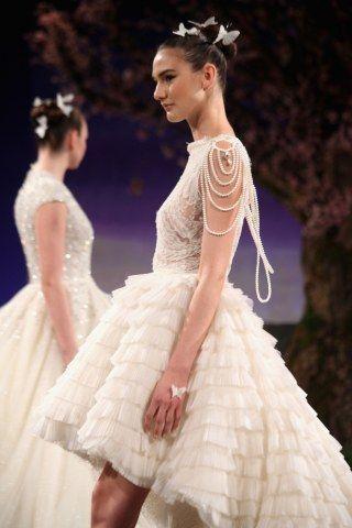 Robe de mariée asymétrique Ines Di Santo