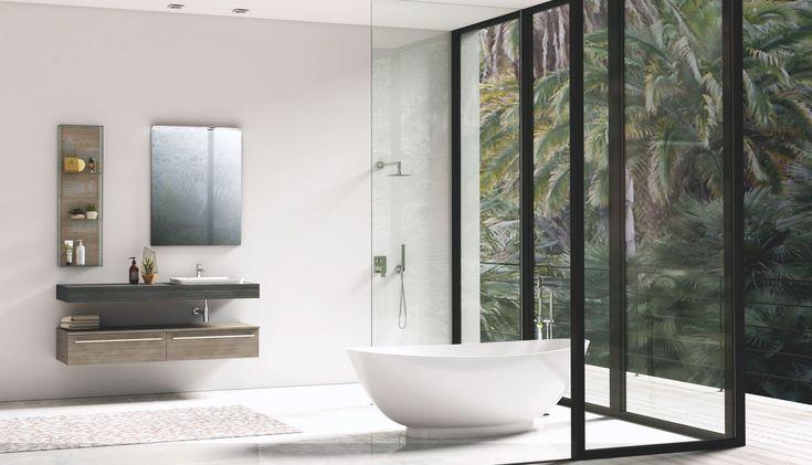 #naturedesign #bathroom #home #modern #minimal #arredobagno
