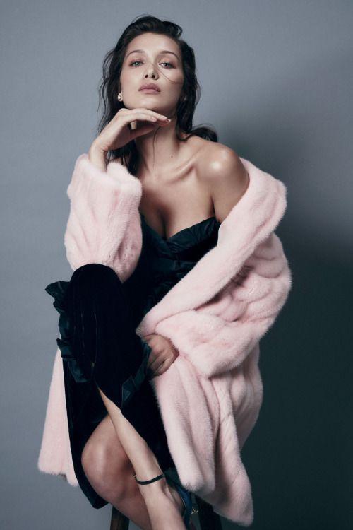 Pink fur coat. Fuckin' a.