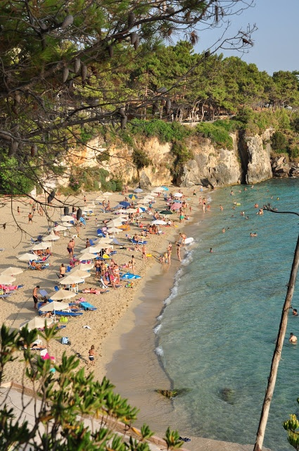 Lassi, Kefalonia / Λάσση, Κεφαλονιά wide beach