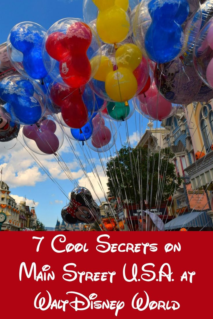 "That old adage ""it's all in the details"" was never truer than at Walt Disney World & Main Street U.S.A. is no exception. Here's 7 secrets to make you think."