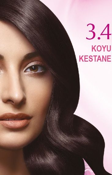 Nevacolor 2017 Saç Renk Kartelası - Nevacolor koyu kestane saç renkleri