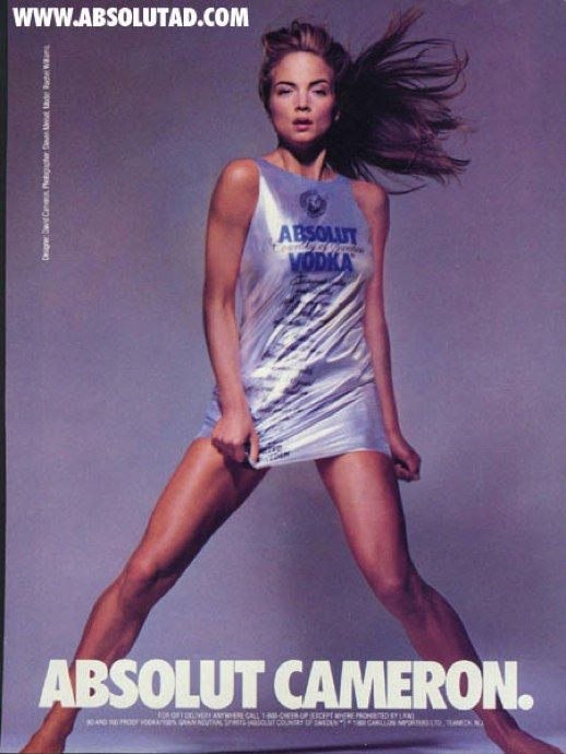Absolut Cameron - one of the best ads ever