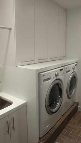 Laundry - modern - laundry room - minneapolis - by Partners 4, Design
