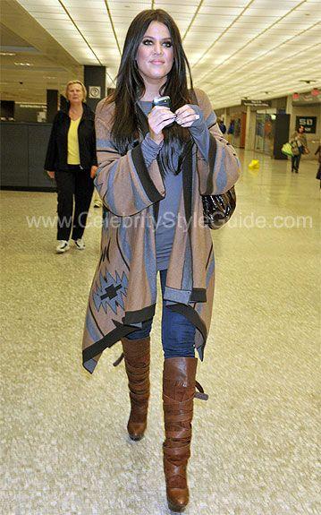 Khloe Kardashian Style and Fashion - Dolce Vita Marilyn Boot - Celebrity Style Guide