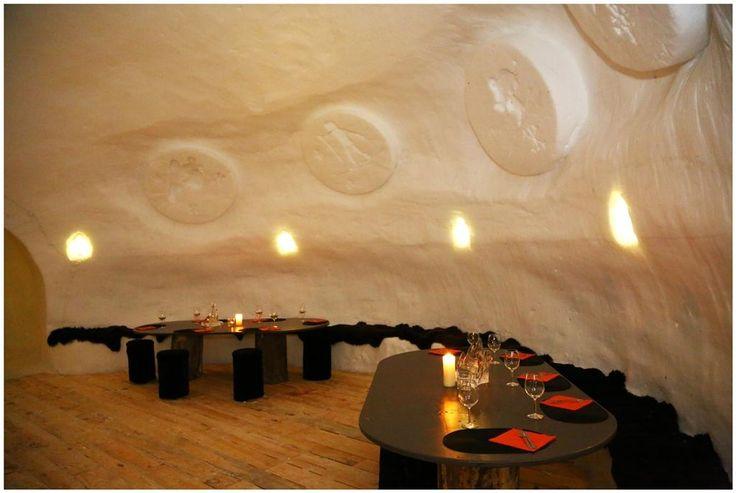 Iglú hotel en Andorra, restaurante