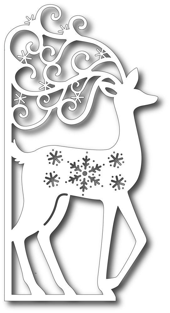 Tutti Design Die - Scrolly Deer Edge
