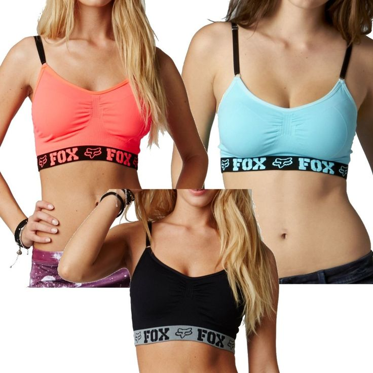 2015 Fox Racing Hello Racer Covert Athletic Work Out Bra