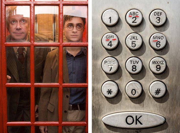 The number that Arthur Weasley enters in the phone booth to get to the Ministry of Magic with Harry is 6-2-4-4-2. The letters underneath those numbers on a standard telephone keypad spell out magic