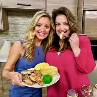 Healthy Julie on Colorado's Everyday Show on Fox31 Denver with Kathie J. and Chris Parents - Chai Spice and Everything Nice http://healthyjulie.com