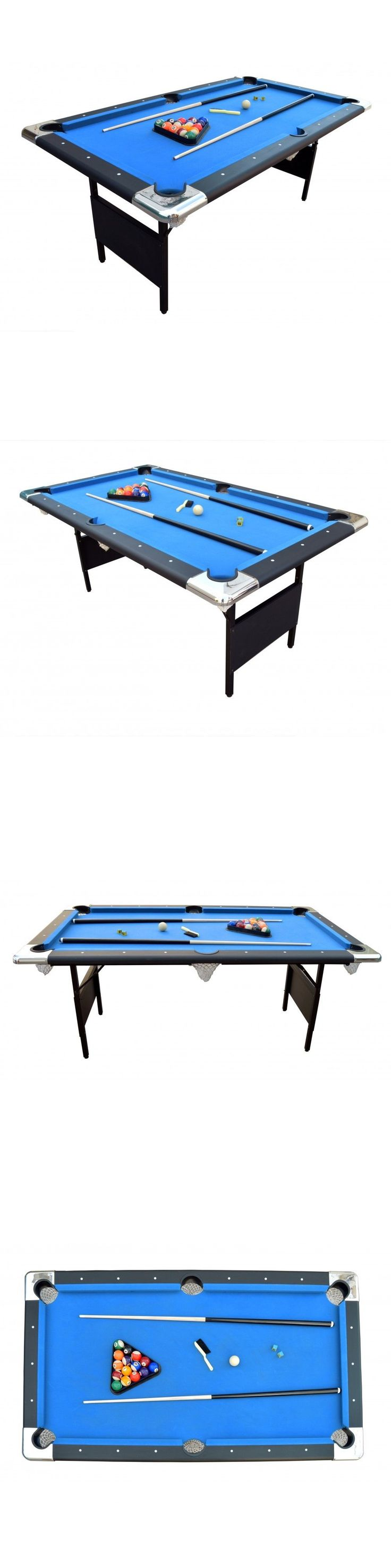 Tables 21213: Carmelli Fairmont 6 Portable Pool Table Includes Billiard Balls Cues Rack Brush -> BUY IT NOW ONLY: $439.95 on eBay!