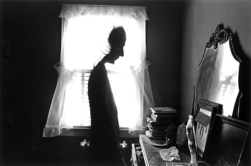 Joseph Cornell, Photo by Duane Michals, 1972