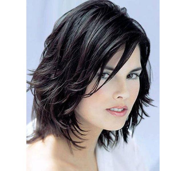 Стрижки на вьющиеся волосы средней