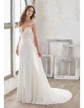 Meerjungfrau Aparte Moderne Brautkleider aus Chiffon mit Applikation