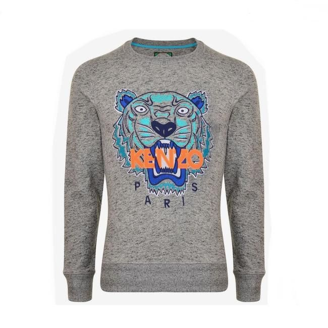 166e30ecb Tiger Grey Sweater in 2019   Cleaning out the closet   Grey sweater ...