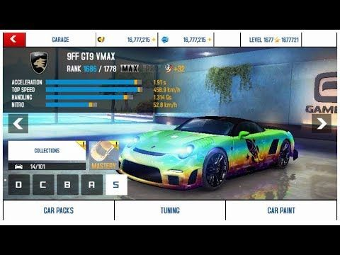 Asphalt 8 Mod Apk v3.5.0j Story Mode Unlimited Money and Tokens