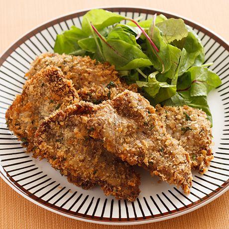 牛パセリマスタードカツ | 伊藤朗子さんのフライの料理レシピ | プロの簡単料理レシピはレタスクラブニュース