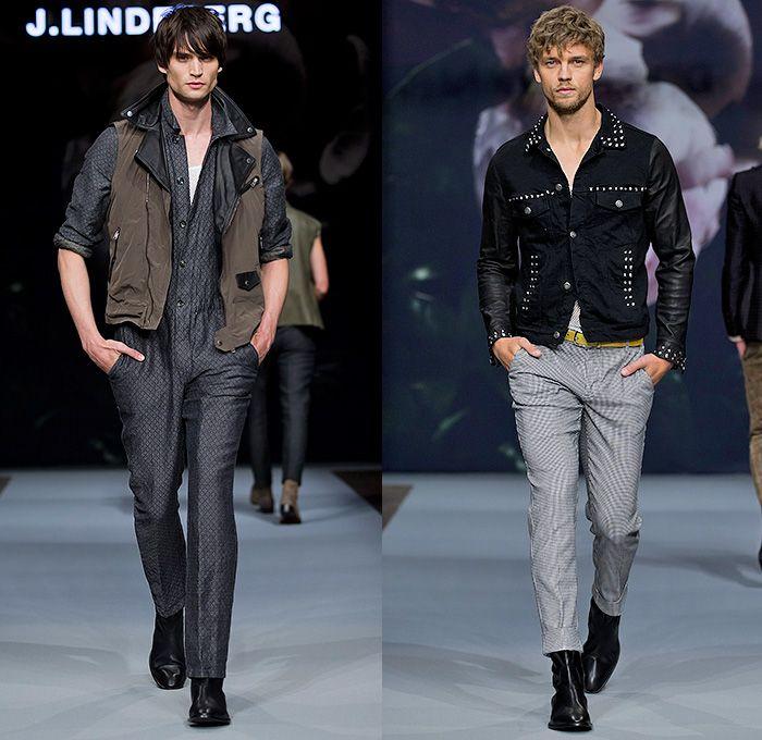 J.Lindeberg 2015 Spring Summer Mens Runway Catwalk Looks - Fashion Week  Stockholm Sweden -