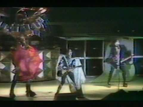 """Rock and Roll All Nite"" is a song by Kiss, originally released on their 1975 album Dressed to Kill. It was released as the A-side of their fifth single, with the album track ""Getaway.""  A subsequent live version, released as a single in October 1975, eventually reached No. 12, the first of six Top 20 songs for Kiss in the 1970s. ""Rock and Roll All Nite"" became Kiss's most identifiable song and has served as the group's closing concert number in almost every concert since 1976."