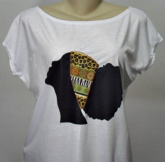Camiseta Afro Customizada
