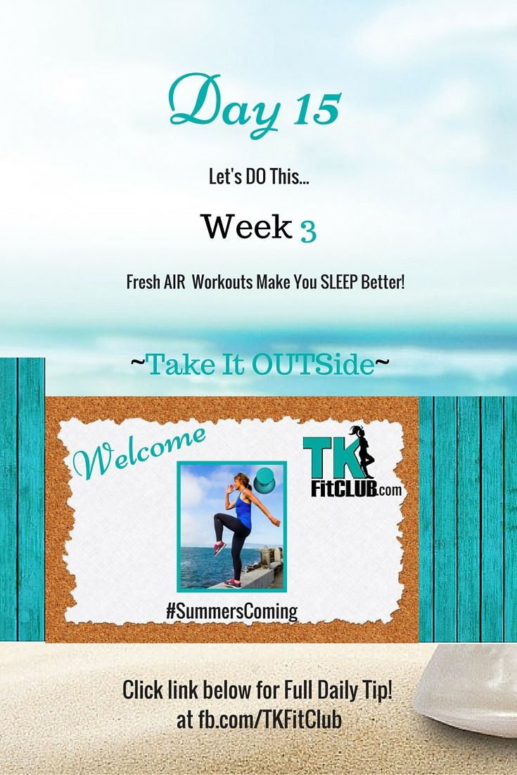 Take it #outside TKFitClub Bikini Ready Countdown.#SummersComing #Accountability #fitfam #getfit #weightloss #Challenge #nutrition #eatclean #workouts