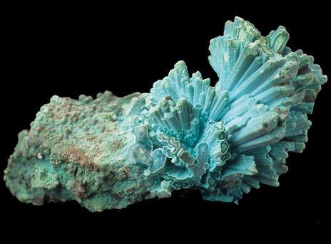 LE CHRYSOCOLLE. La pierre qui prend soin de votre gorge. D'un beau vert-bleu, parfois carrément turquoise, le chrysocolle peut parfois être confondu avec la turquoise. Au Pérou, on l'appelle d'ailleurs la «turquoise de Lima». Le terme chrysocolle vient du Grec «Chrysos» qui signifie or et «Kolla» colle. Dans l'antiquité, le chrysocolle ou  «colle d'or» était en effet utilisé pour souder l'or lors de la fabrication de bijoux | Rebelle-Santé