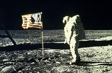 """THE MOON LANDINGS WERE FAKED...It's now been over four decades since Neil Armstrong took his """"giant leap for mankind"""" — if, that is, he ever set foot off this planet. Many conspiracy theorists still insist the Apollo 11 moon landing was an elaborate hoax.  More information at http://www.crystalchannelers.com/blog/ufo---conspiracy-theory-no--2---the-moon-landings-were-faked/"""