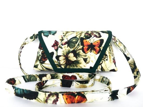 Butterfly Crossbody Bag for smartphones by AddaSplashofColour