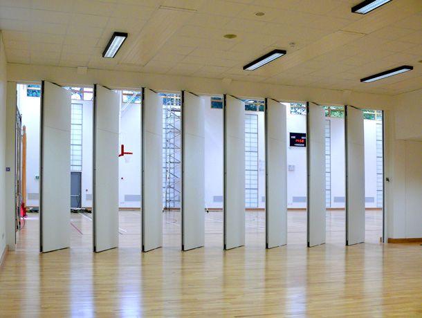 AcouSilencio Operable Walls In Sports Hall