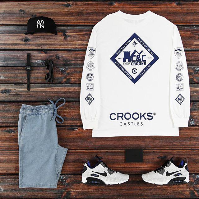 Massive new Crooks & Castles drop  #crooks  #carré  #airmax90  #newera #oldgolfer ⌛️#casio  #wdywtgrid #culturekings #streetwear #summer @wdywt