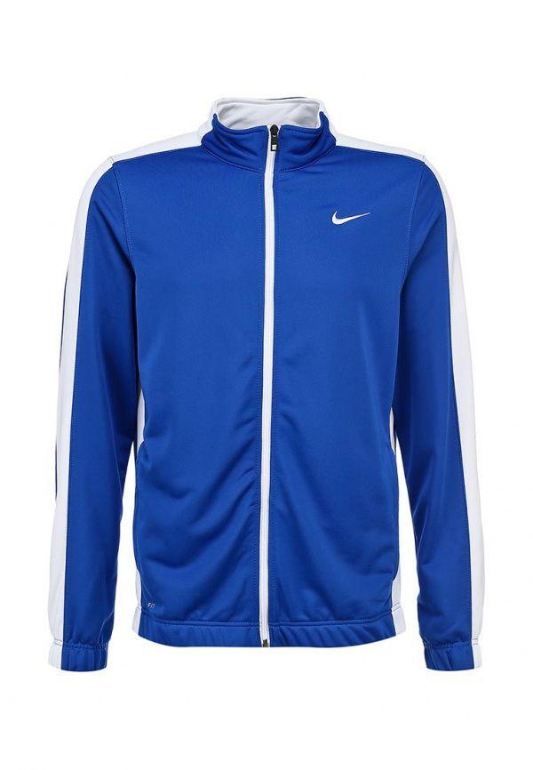 Олимпийка Nike / Найк для мужчин. Цвет: синий. Сезон: Весна-лето 2014. С бесплатной доставкой и примеркой на Lamoda. http://j.mp/1l4iQyq