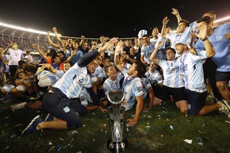 Racing es campeón del fútbol argentino después de 13 años - Racing Club - canchallena.com
