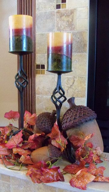 fall decorating living room | Flickr - Photo Sharing!