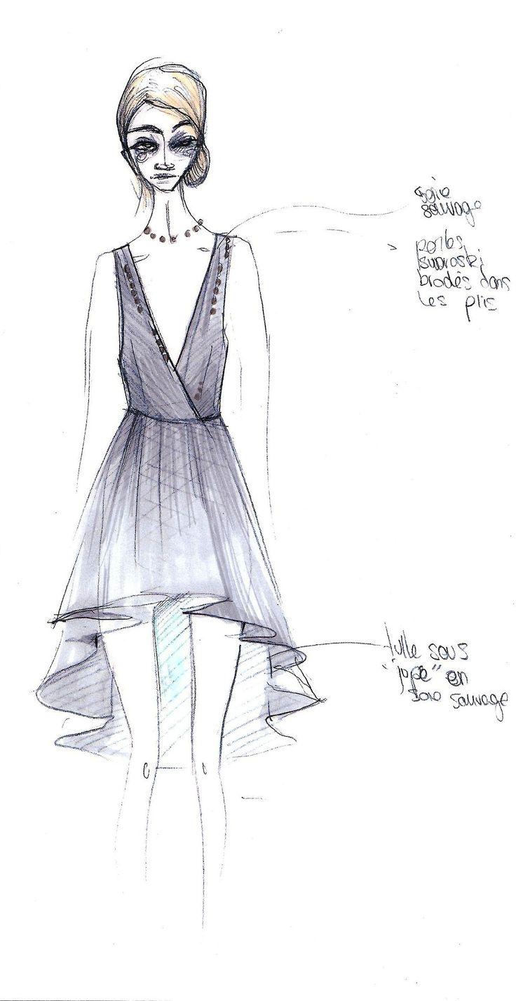 La Reveuse / Dress No. 4