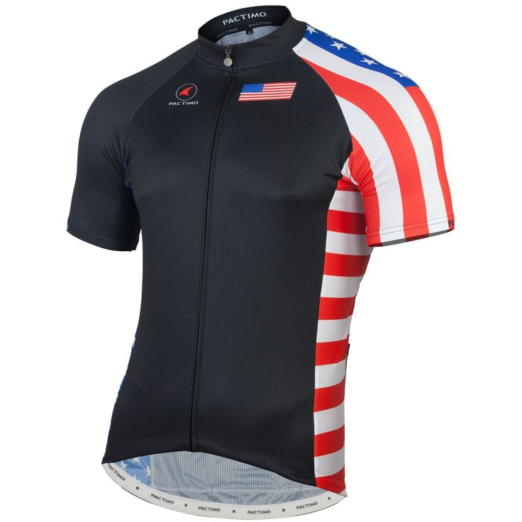 U.S.A Cycling Jersey - Men's | Country Cycling Jersey | Pactimo