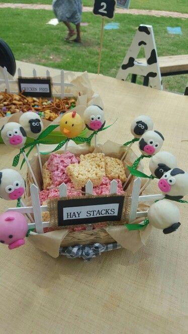 Rice crispies Hay stacks