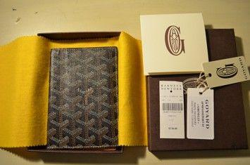 Goyard Goyard Passport Holder - Black