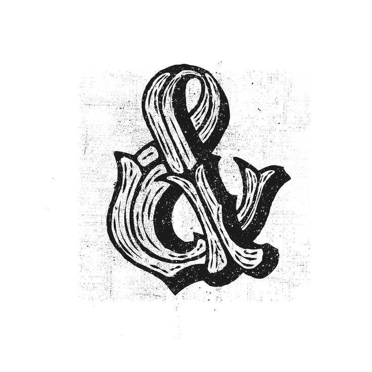 Over the next year I will be posting over 1,000 characters. Starting with ampersands and ending with the letter A (so that it will appear in alphabetical order in the end).