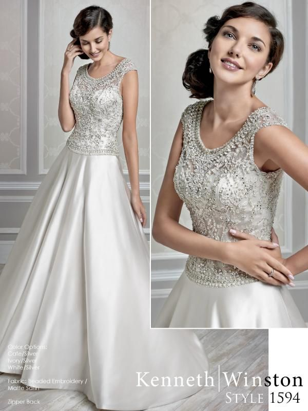 Igen Szalon Kenneth Winston wedding dress- 1594 #igenszalon #wedding #weddingdress #kennethwinston #eskuvo #eskuvoiruha  #menyasszony #menyasszonyiruha #Budapest