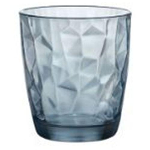 Set 6 Bicchieri Diamond Ocean Blue