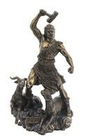 Thor. Norse God Veronese Bronze Figurine Thunder Viking Vikings protection