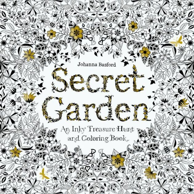 Experience The Phenomenon That Has Sold 2 Million Copies Worldwide And Launched Coloring Craze For Secret Garden BookThe