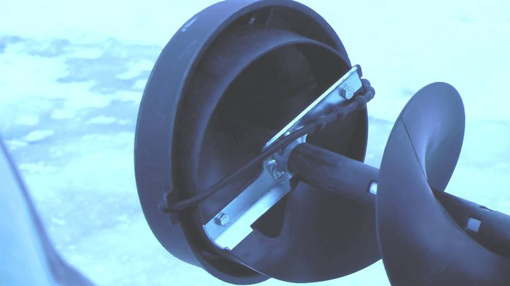 ice fishing auger blade  tips for drilling through ice  by WillCFish Tip...