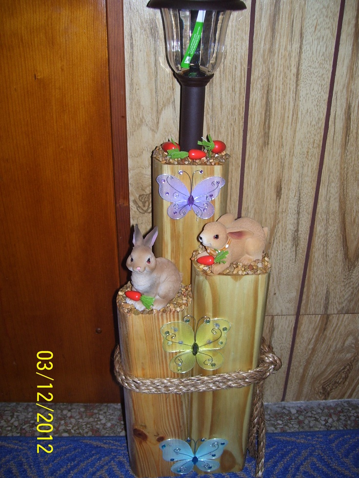 Rabbit solar light crafts we did pinterest solar for Where to buy solar lights for crafts